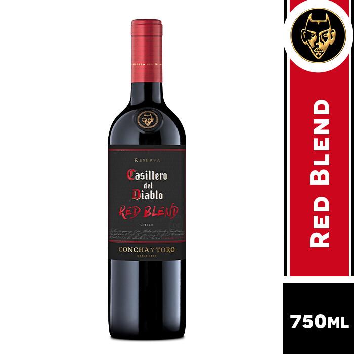 VINO CASILLERO DEL DIABLO RED BLEND 750 ML