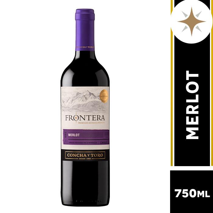 VINO FRONTERA MERLOT 750 ML