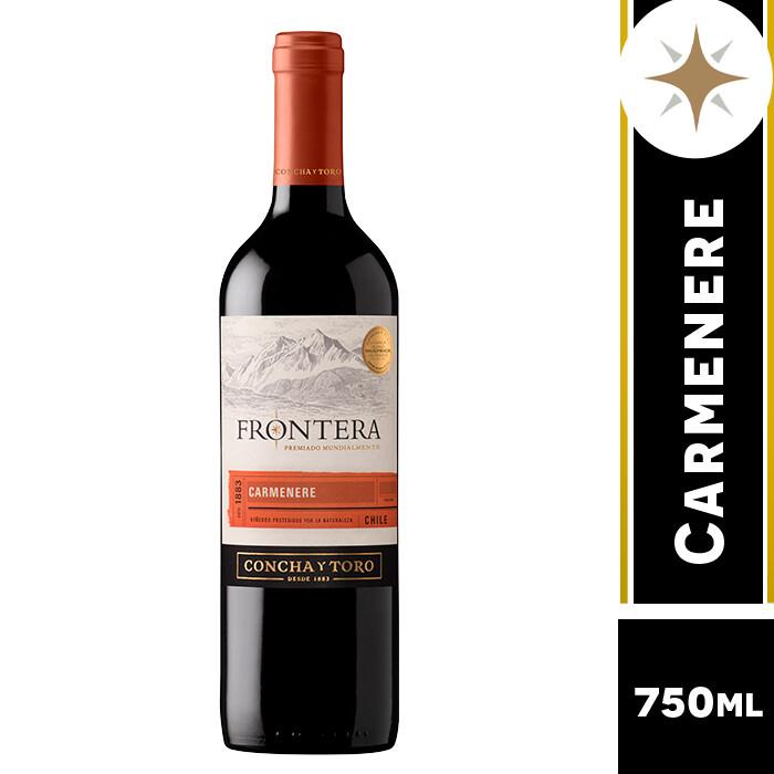 VINO FRONTERA CARMENERE 750 ML