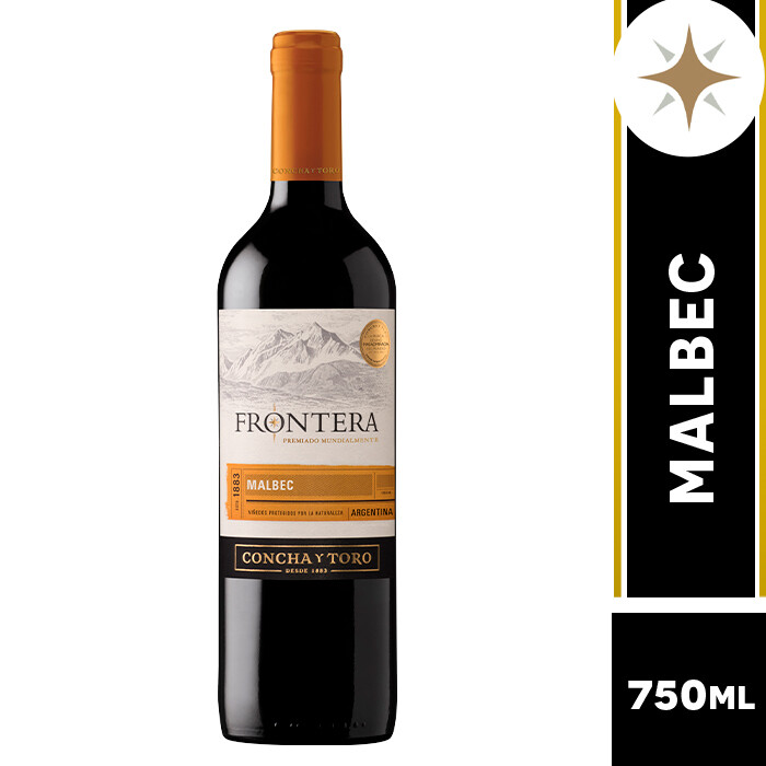 VINO FRONTERA MALBEC 750 ML