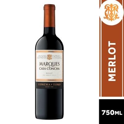 VINO MARQUES DE CASA CONCHA MERLOT 750 ML