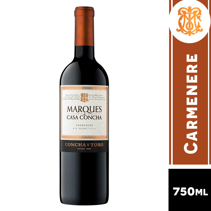 VINO MARQUES DE CASA CONCHA CARMENE 750 ML