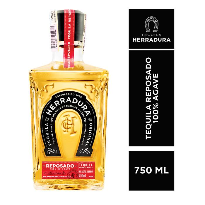 TEQUILA HERRADURA REPOSADO 750 ML