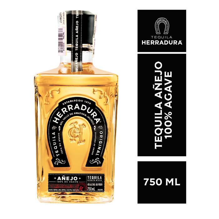 TEQUILA HERRADURA AÑEJO 750 ML