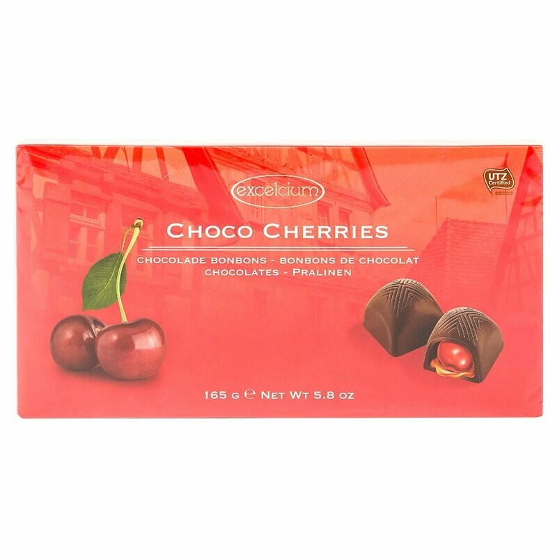 ESTUCHE CHOCOLATE EXCELCIUM CHERRIES X 165GR
