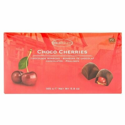 ESTUCHE CHOCOLATE EXCELCIUM CHERRIES X 165GR