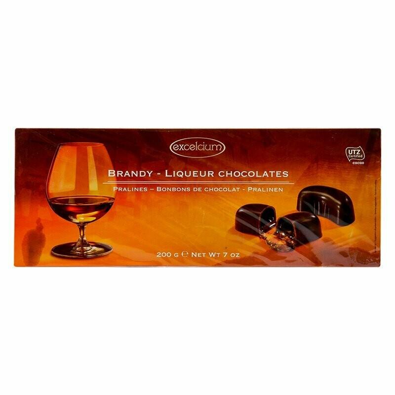 ESTUCHE CHOCOLATE EXCELCIUM BRANDY X 200GR