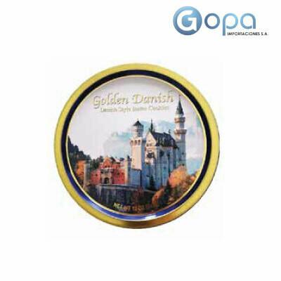 GALLETAS DE MANTEQUILLA GOLDEN DANISH LATA X 340 GR
