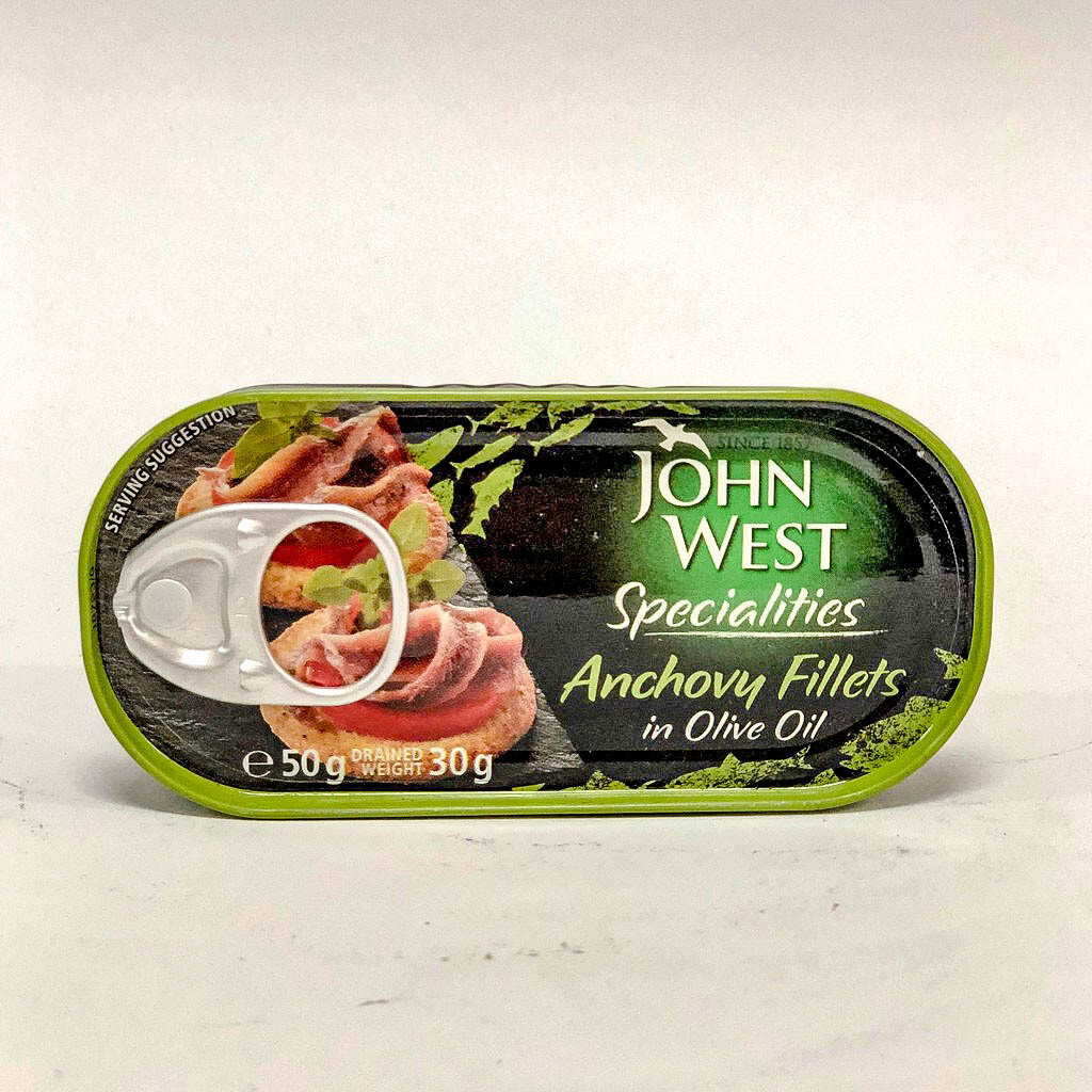 ANCHOAS JOHN WEST LATA X 30 GR