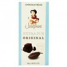 TABLETA DE CHOCOLATE BELGA JOSEPHINE LECHE ORIGINAL X 100 GR