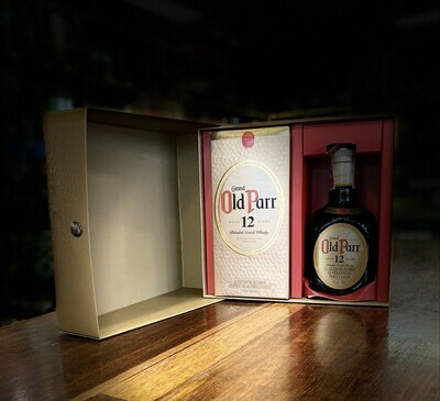 ESTUCHE WHISKY OLD PARR 750 ML+ OLD PARR 500 ML TEMPORADA 2020