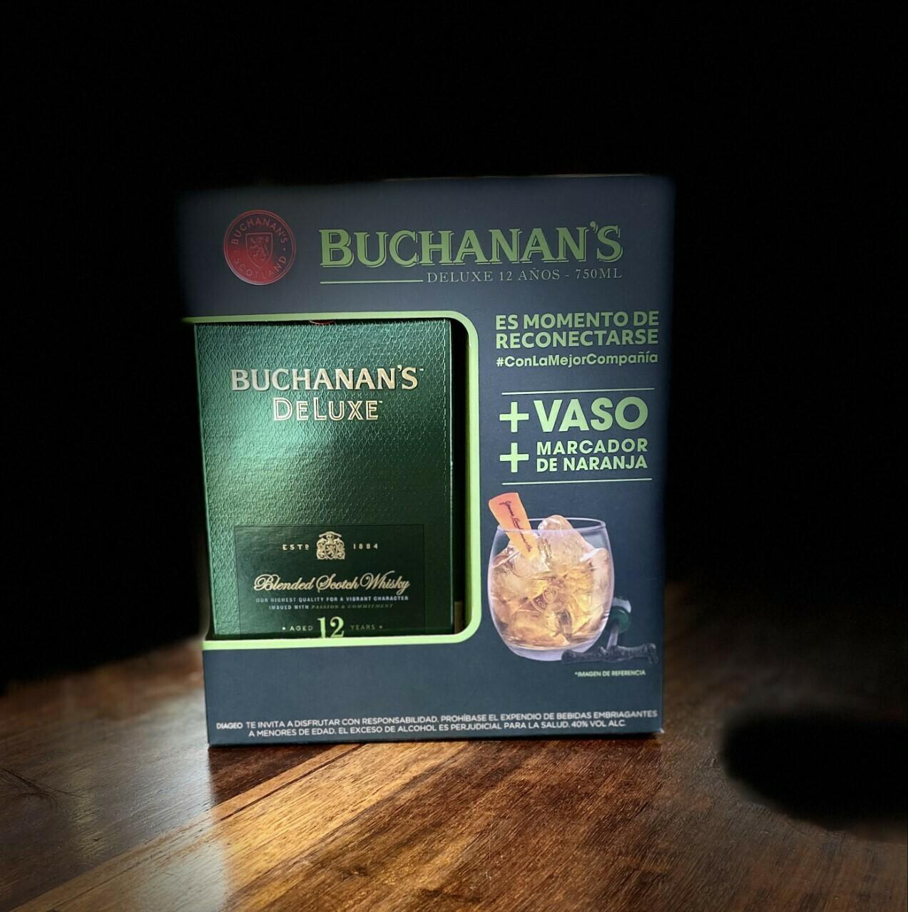 WHISKY BUCHANAN'S DELUXE 750 ML