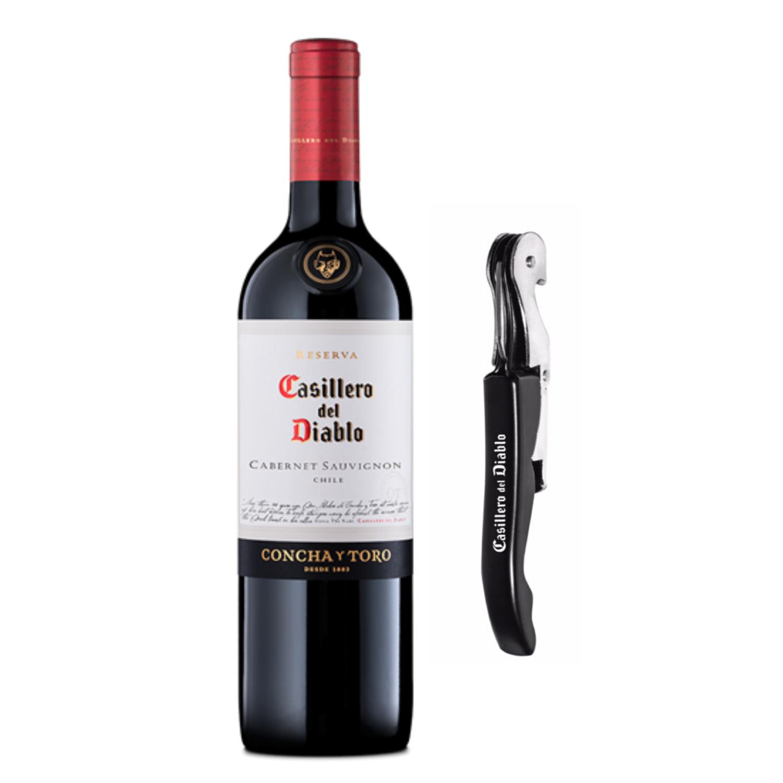 VINO CASILLERO DEL DIABLO CABERNET SAUVIGNON 750 ML