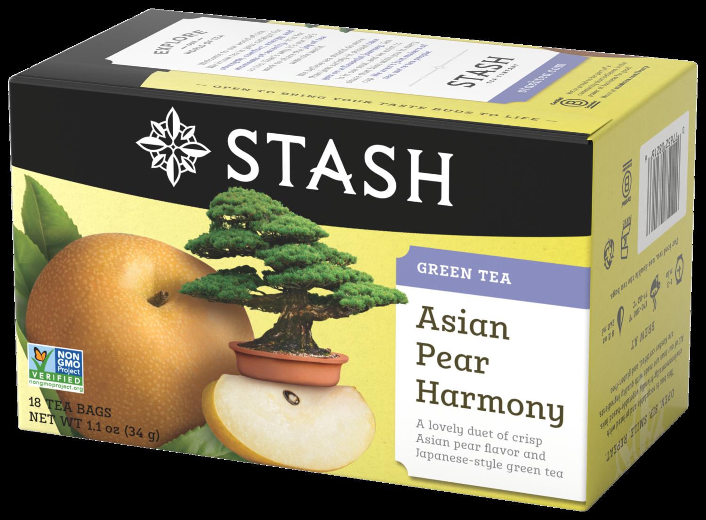STASH GREEN TEA ASIAN PEAR HARMONY X 18 SOBRES