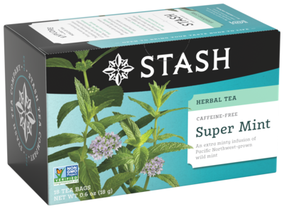 STASH HERBAL SUPER MINT TEA X 18 SOBRES