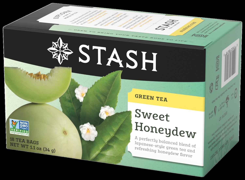 STASH  GREEN TEA SWEET HONEYDEW X 18 SOBRES