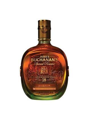 WHISKY BUCHANAN'S 18 AÑOS BOTELLA