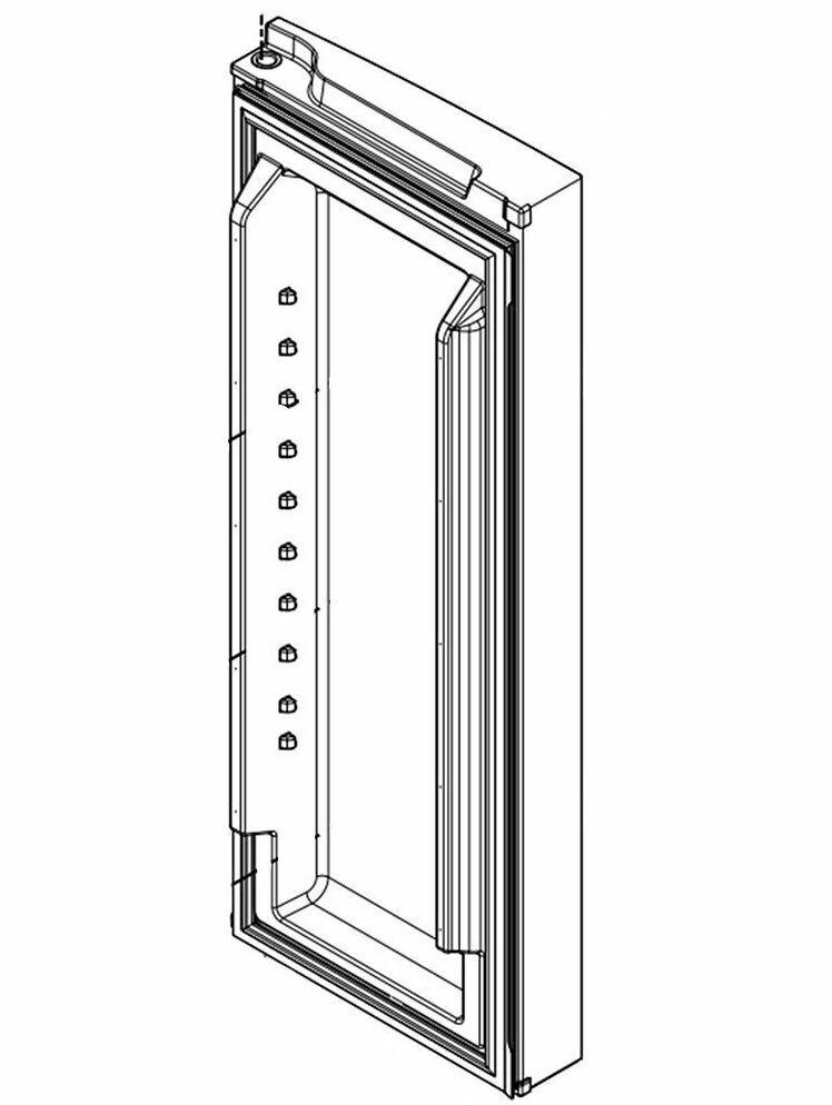 Part# LW10413519 - DOOR-FIP MONO STAINLESS RH