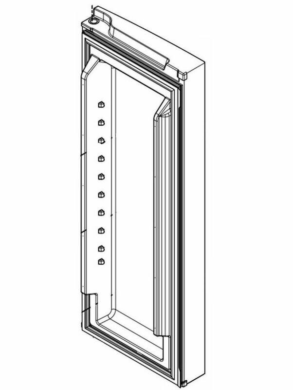 DOOR-FIP MONO STAINLESS RH