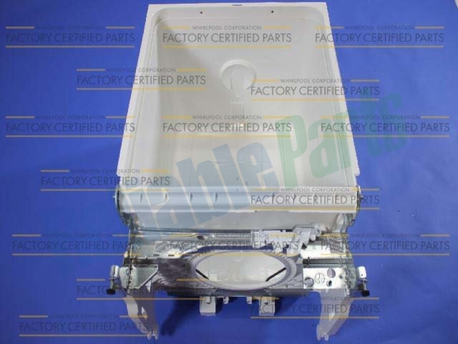 Part# W10254860- TUB DISHWASHER ASSY, WHT TZ SW