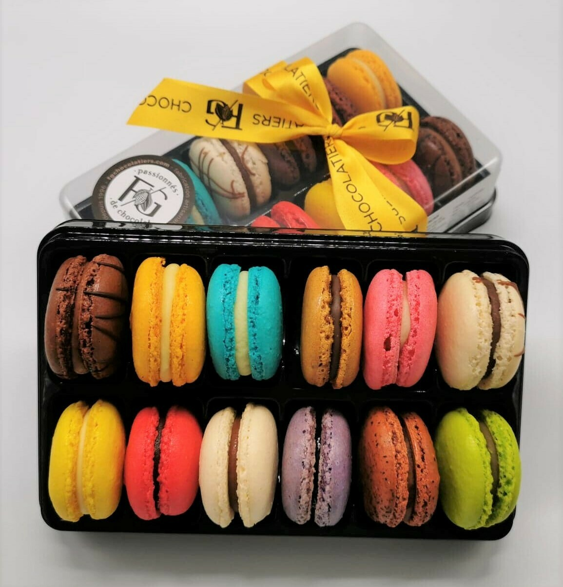 Macarons Boîte 12