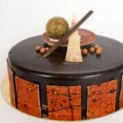 Chocolat/Caramel 8''