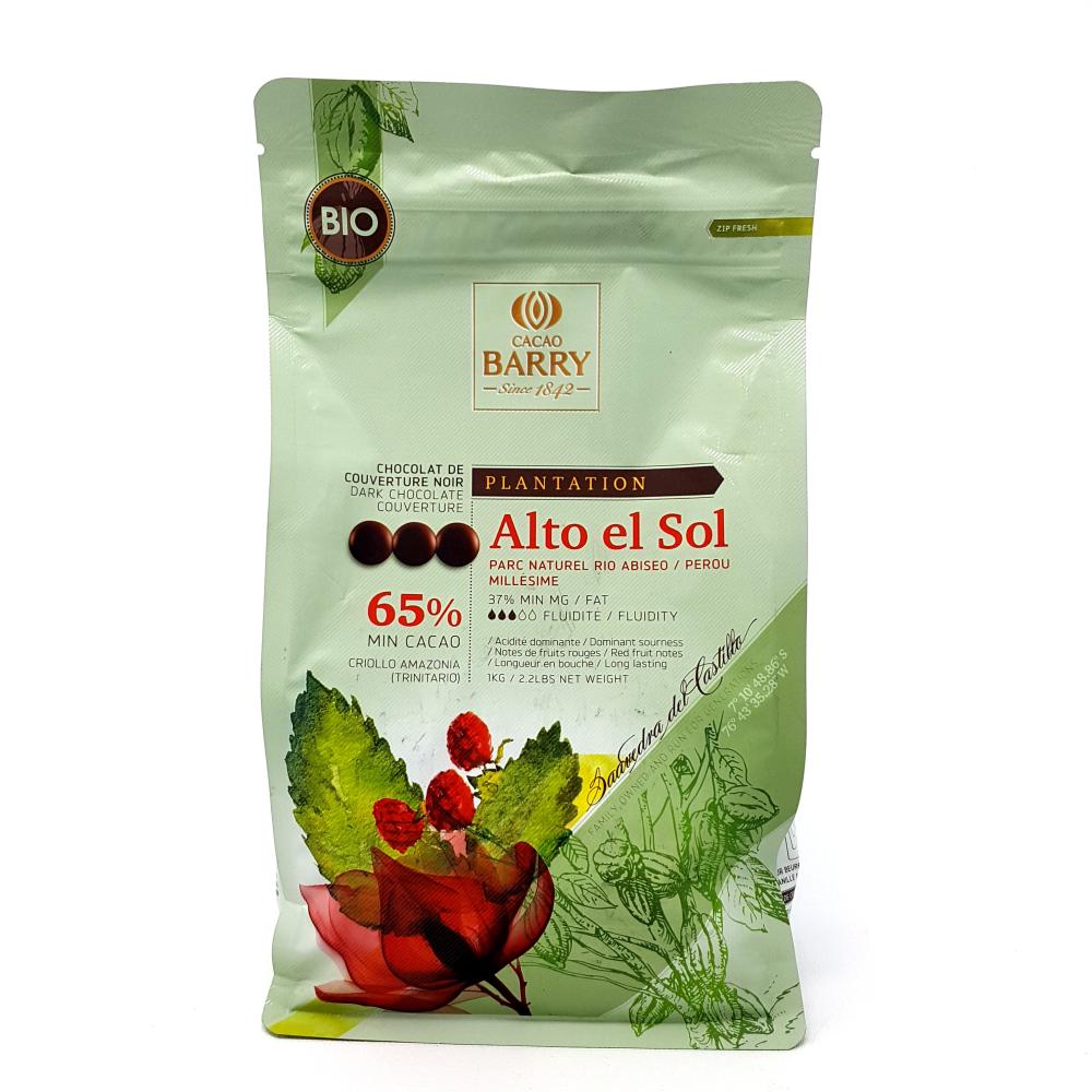 Alto El Sol - Noir 65% - 250g