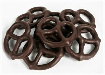 Pretzel - Chocolat Noir