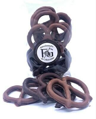 Pretzel - Chocolat au Lait+Noir