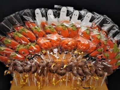 Mini Citrouille Suçon - LAIT