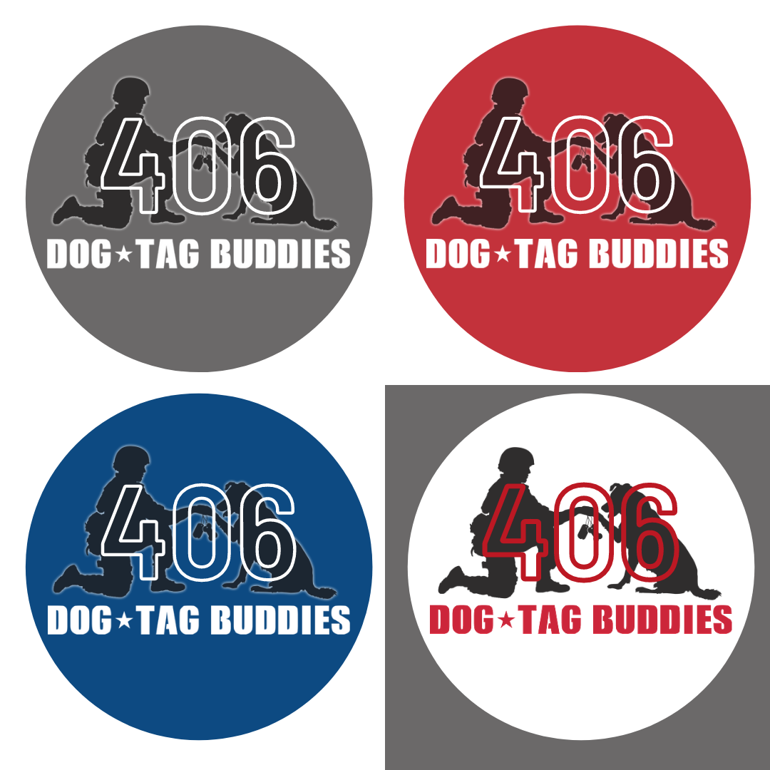 DTB 406 Circle Stickers