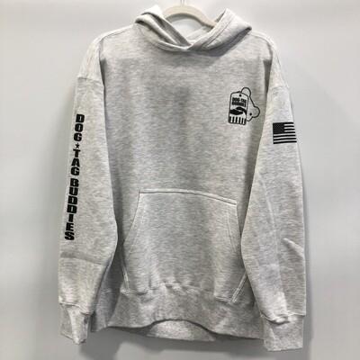 DTB Hoodie - Light Grey/Ash