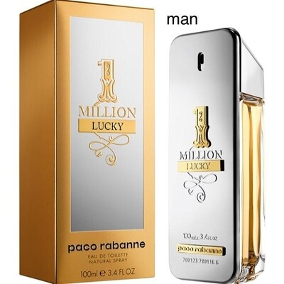 1 Million Lucky Men 100ml EDT