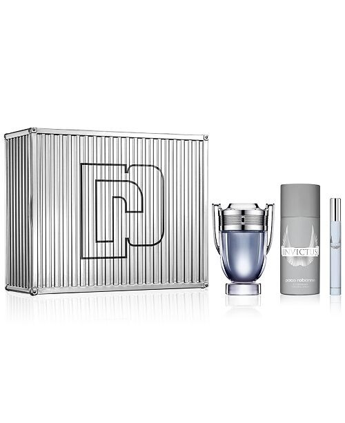 Invictus by Paco Rabanne 3-Piece Gift Set