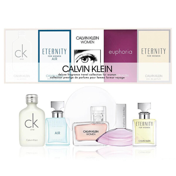 Calvin Klein Perfume Collection for women 5-Piece Gift Set
