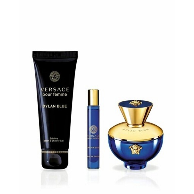Dylan Blue Pour Femme by Versace 3-Piece Gift Set