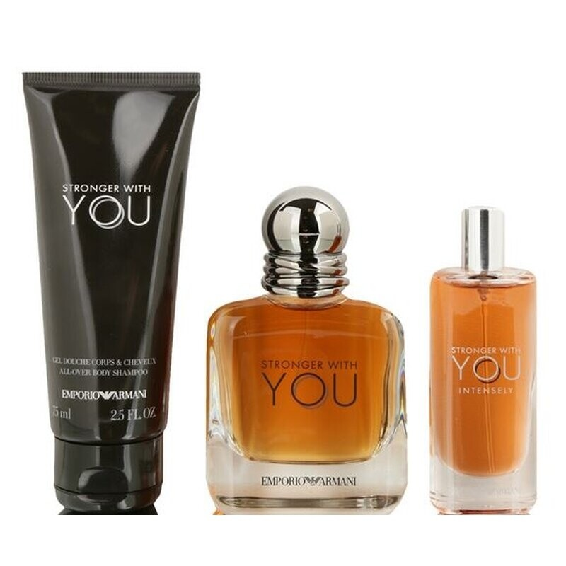 Stronger With You by Giorgio Armani 3-Piece Gift Set