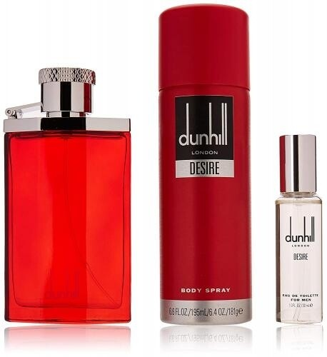 Desire Red by Dunhill 3-Piece Gift Set