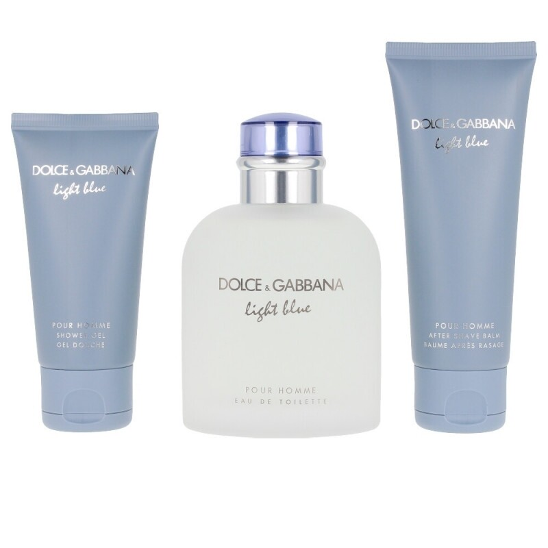 Light Blue Pour Homme by Dolce & Gabbana 3-Piece Gift Set