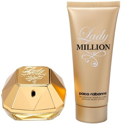 Lady Million by Paco Rabanne 2-Piece Gift Set