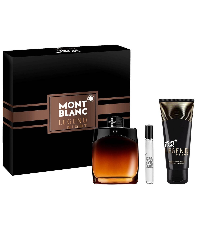 Mont Blanc Legend Night 3-Piece Gift Set