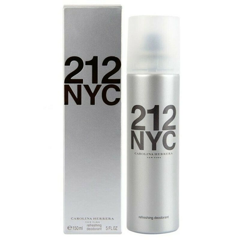 Caroline Herrera 212 NYC Deodorant for women 150ml