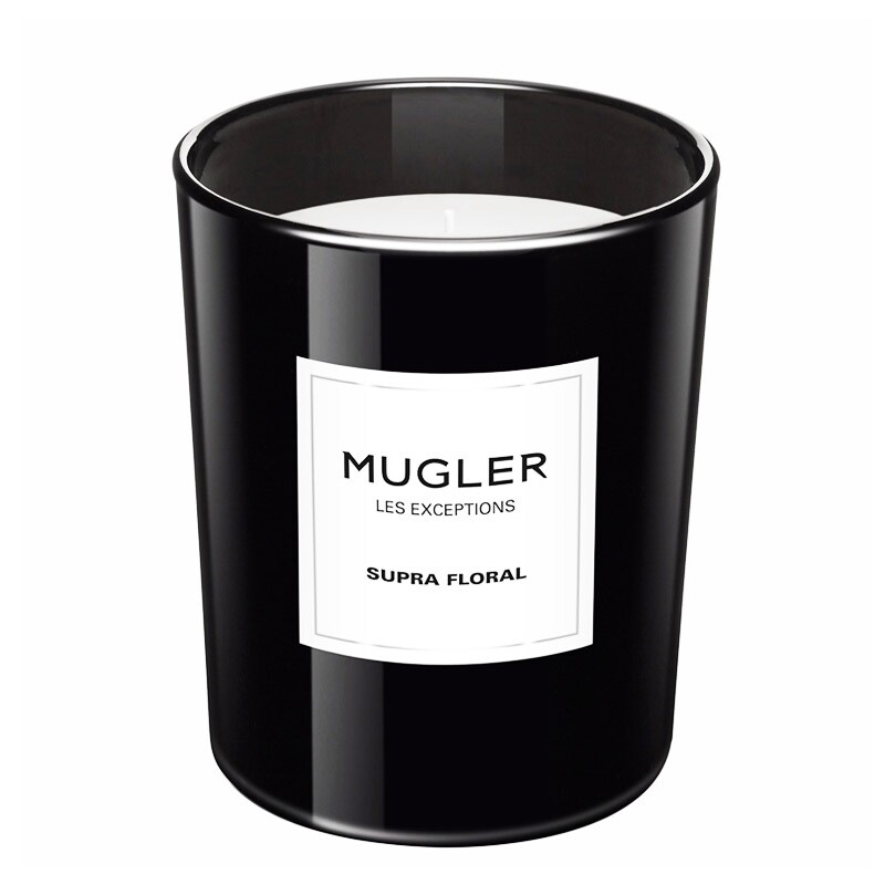 Mugler Les Exceptions Supra Floral – Scented Candle, 180 Gram