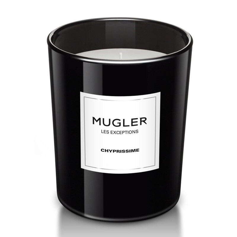 Mugler Les Exceptions Chyprissime Scented Candle 180 Gram