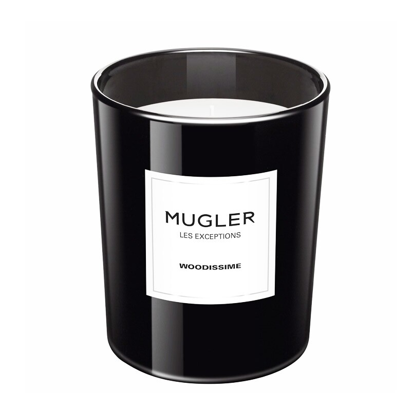 Mugler Les Exceptions Woodissime Scented Candle 180 Gram