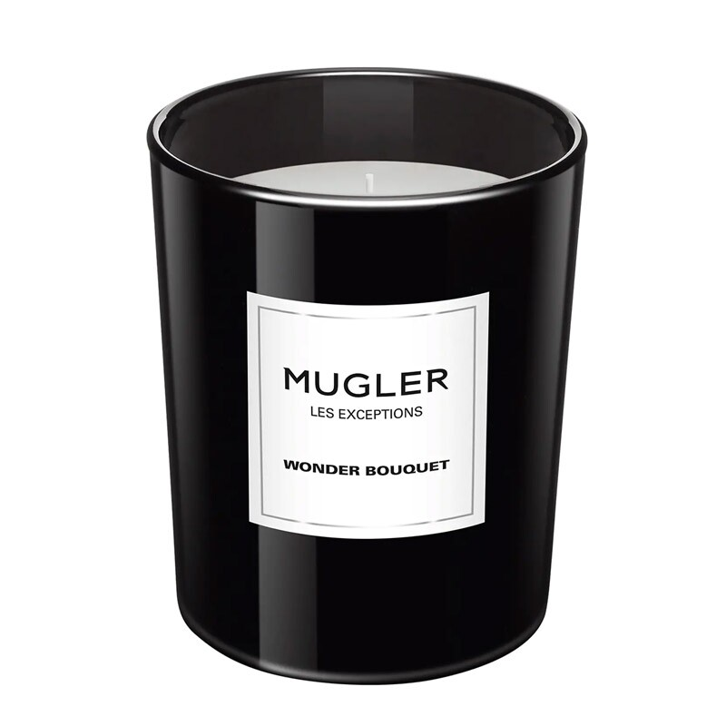 Mugler Les Exceptions Wonder Bouquet Scented Candle 180 Gram