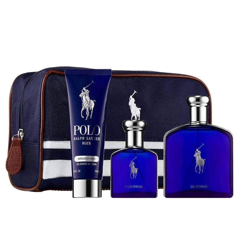 Polo Blue by Ralph Lauren 4-Piece Gift Set