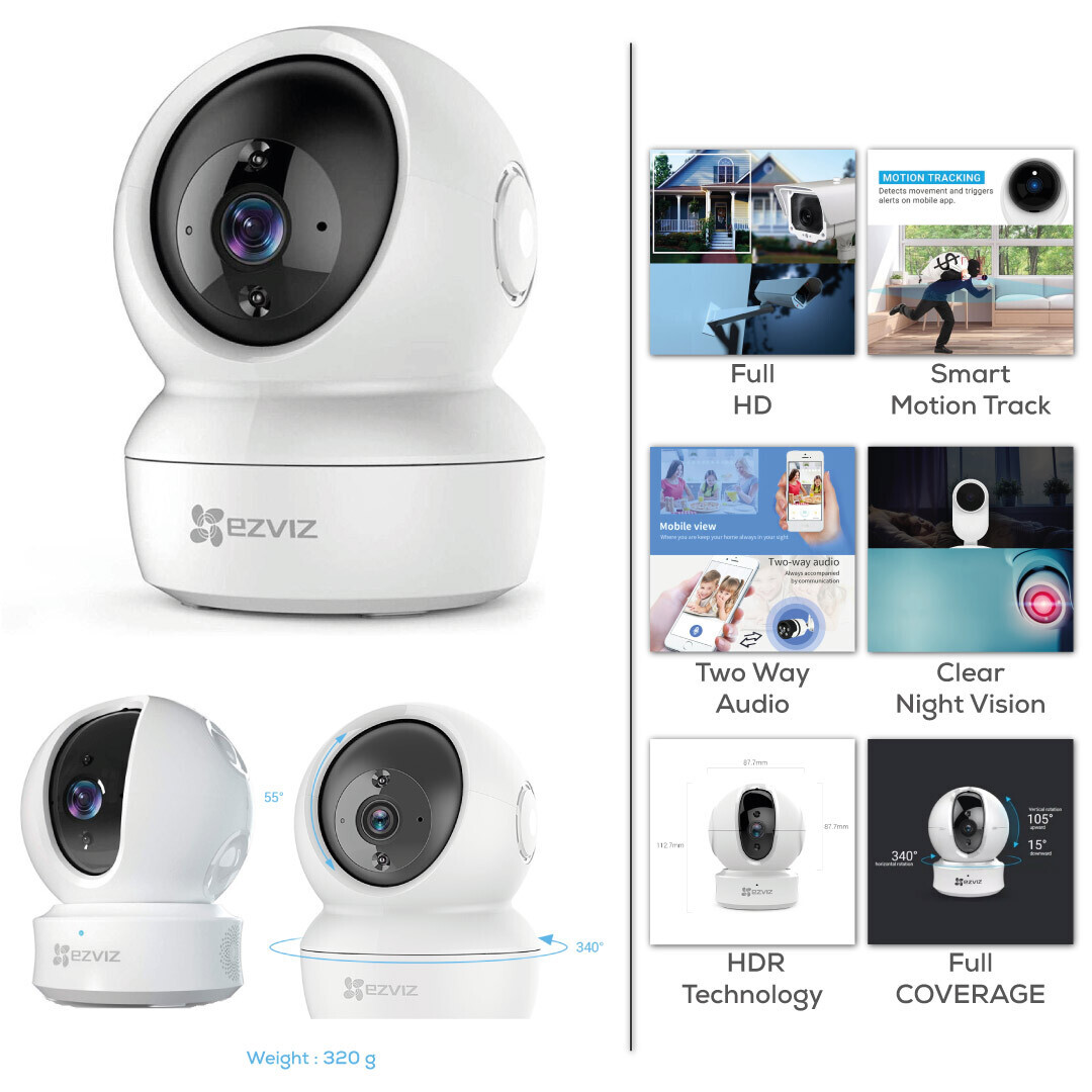 Wifi Camera for Home with Talking