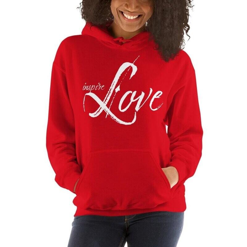 Inspire Love Womens Hoodie