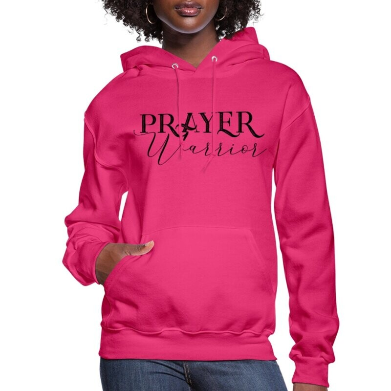 Womens Prayer Warrior Hoodie